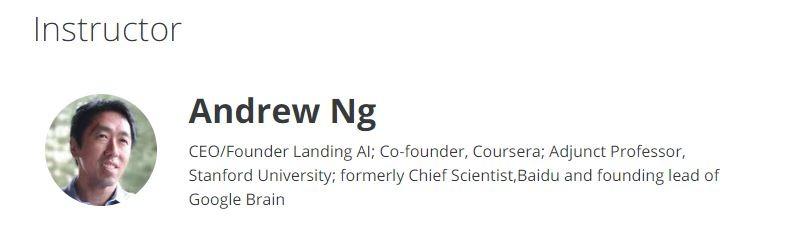 Curso de Machine Learning – Stanford University
