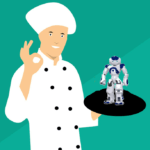 Dime en qué trabajas y te diré si un robot te quitará tu puesto I. Camareros/as y cocineros/as.