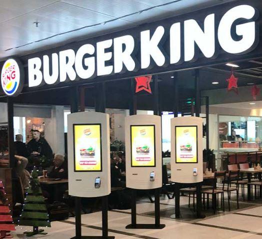 Maquinas autocobro de Burger king